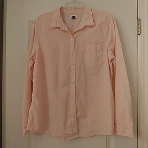 Old Navy long sleeve, button-down
